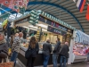 Swansea Christmas Market - Wales - UK-  November 2018