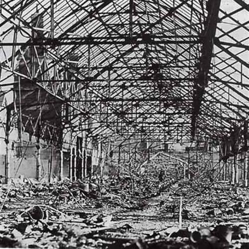 Swansea Market - Bombed Interior
