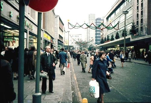 Oxford Street In The 1970s