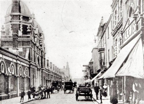 Oxford Street - Swansea Market 1900