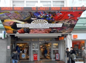 Swansea Market Entrance