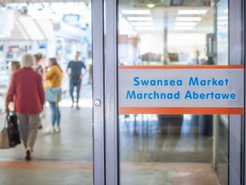 Swansea Market - doorway